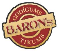 BARON's kafejnīca-ēdnica,Lielā iela 3b Logo