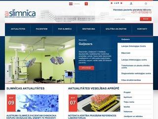 Rīgas Austrumu klīniskā universitātes slimnīca. Morgs webpage