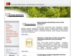 Rīgas Bāriņtiesa Вебсайт