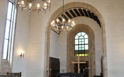 Rīgas kremācijas centra atvadu zāle ir lielākā un greznākā atvadu zāle Latvijā.