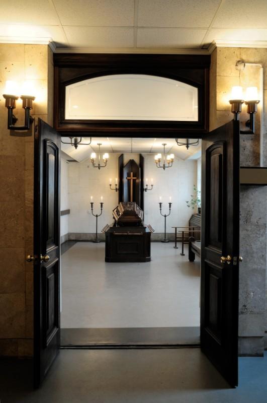 Krematorija mazā atvadu zāle