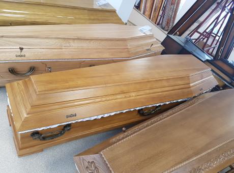 Натуральный деревянный гроб