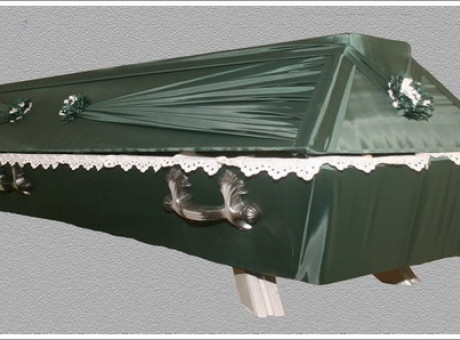 Greenish coffin