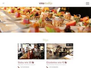Vīna Studija SIA Galvenā