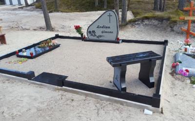 Visas kapa vietas labiekārtošana.