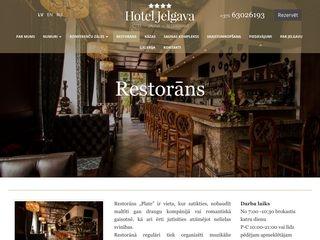 Plate bārs-restorāns Galvenā