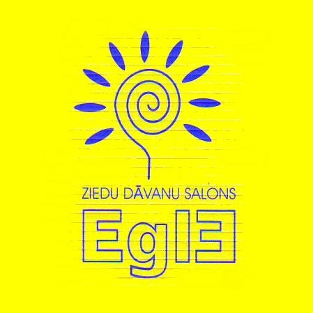 Egle, ziedu salons Logo