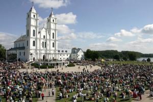 Vissvētākās Jaunavas Marijas Debesīs uzņemšanas svētki Aglonā