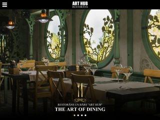 Art Hub restorāns Galvenā