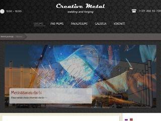 Creative metal Homepage
