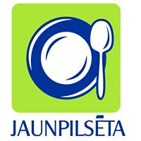 Jaunpilsēta kafejnīca Logo