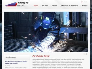Rubate metal Homepage