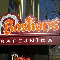 Bastions kafejnīca Logo