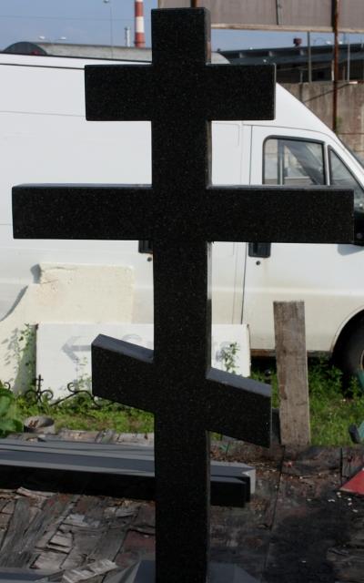 Granite crosses -