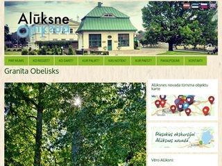 Granīta Obelisks webpage