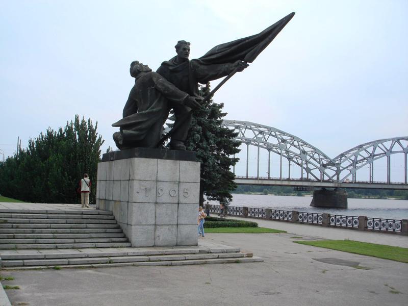 Piemineklis 1905. gada cīnītājiem