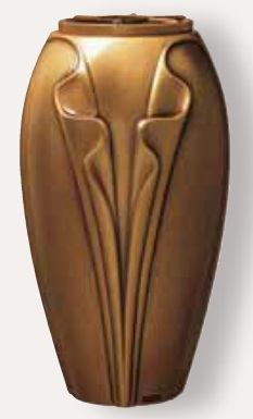 Bronzas vāze -