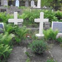 Grāfa Leona Plātera piemiņas vieta Daugavpils katoļu kapos Logo