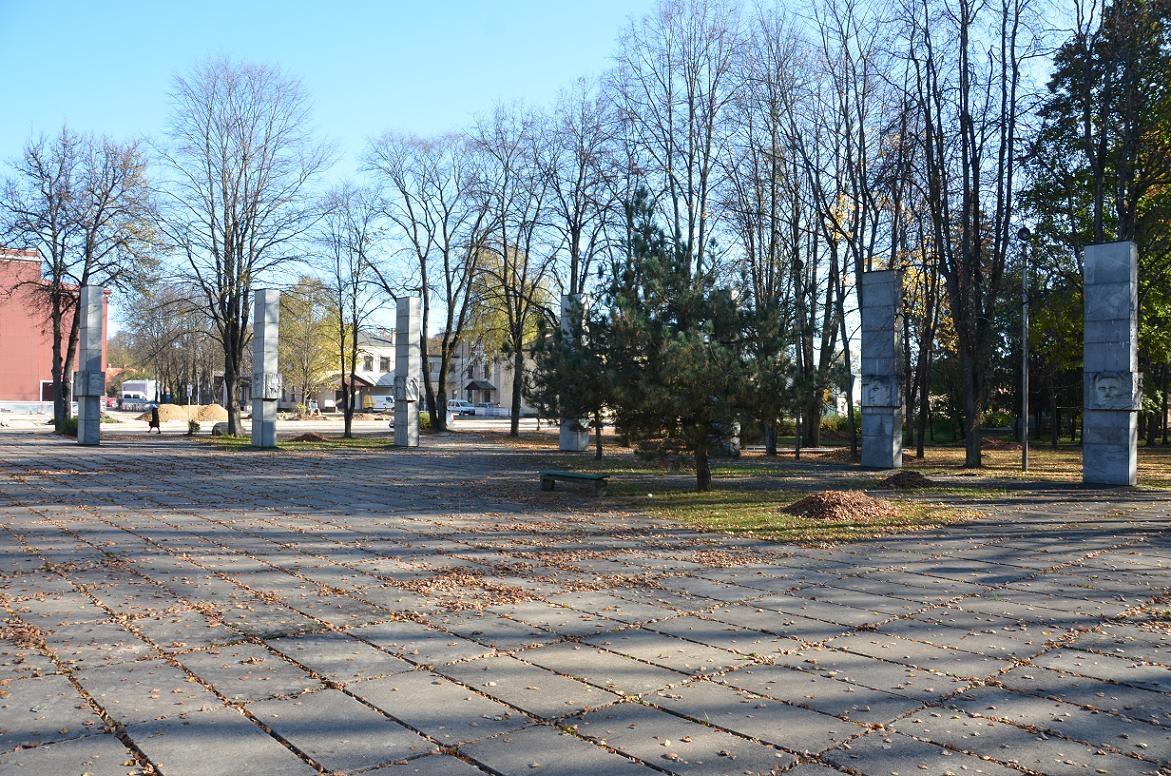 Krustpils parks un Otrā pasaules kara memoriāls Fotogalerija