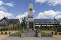 Piemineklis par Latvijas brīvību kritušajiem Gulbenes draudzes locekļiem Logo