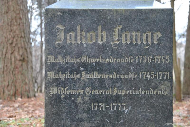 Piemineklis Jakobam Langem Logo