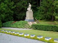 Meža kapi un K. Zemdegas piemineklis