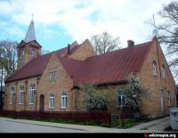 Saldus Mārtiņa Lutera evaņģēliski luteriskās draudzes baznīca Logo