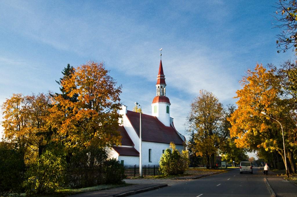 Valkas Lugažu Ev. Luteriskā baznīca Logo
