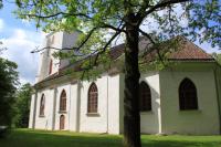 Zlēku luterāņu baznīca logo