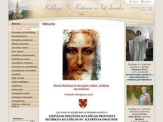 Sv. Katrīnas luterāņu baznīca Mājaslapa