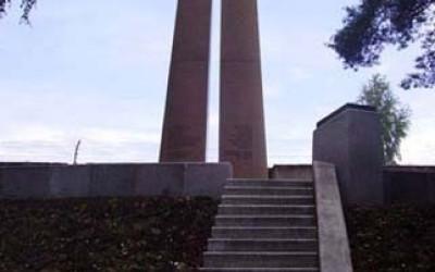 Vācu karavīriem II Meža kapos Rīgā