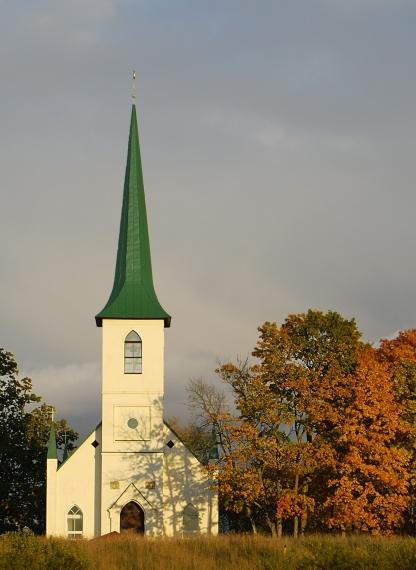 Bērzaunes evaņģēliski luteriskajā baznīcā Logo