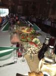 Bēru mielastu galdu klāšana