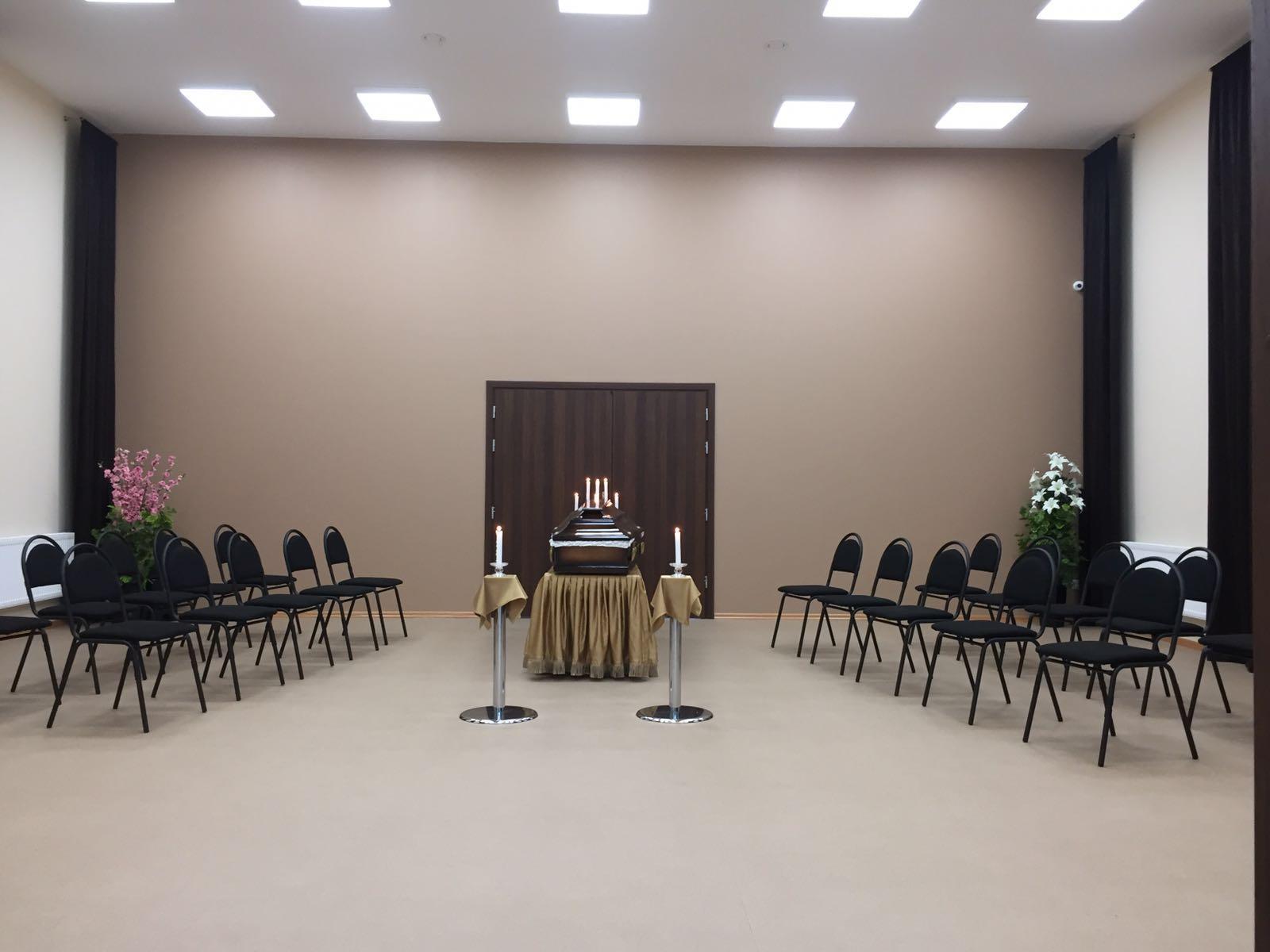 Krematorija piedāvā kremācijas