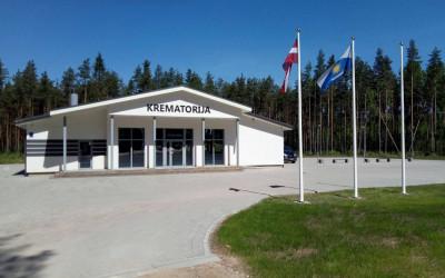 Jauna krematorija Valmierā, Vidzemē