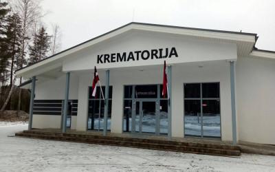 Jauna licencētā un vienīgā krematorija Valmierā, Vidzemē, kas ir tiesīga sniegt kremācijas pakalpojumus