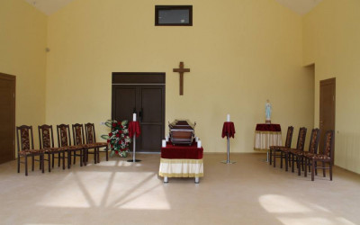Jaunas krematorijas atvadu zāle un apbedīšanas komplekss Rīgā