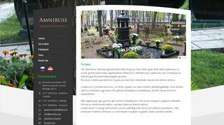 Amnibuss SIA Homepage