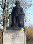 Piemineklis Krišjānim Baronam Logo