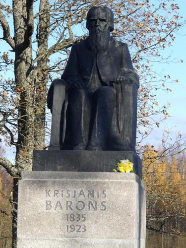 Piemineklis Krišjānim Baronam