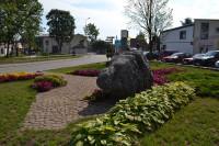 Ludzas 800 gadu pilsētas jubilejai veltīts piemiņas akmens