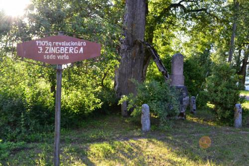 PIEMINEKLIS JURIM ZINGBERGAM
