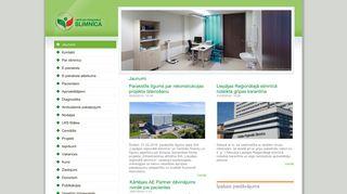 Liepājas reģionālā slimnīca.Morgs webpage
