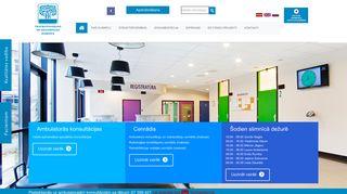 Traumatoloģijas un ortopēdijas slimnīca , SIA.Morgs webpage