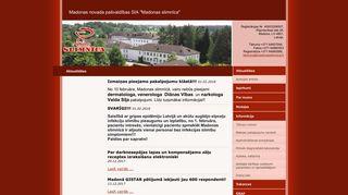 Madonas slimnīca.Morgs webpage