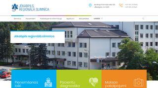 Jēkabpils reģionālā slimnīca.Morgs Mājaslapa