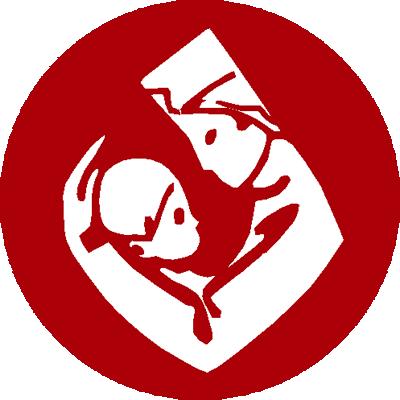Bērnu klīniskā univeristātes slimnīca.Gaiļezers.Morgs logo