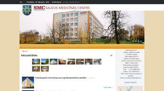 Saldus medicīnas centrs.Morgs webpage