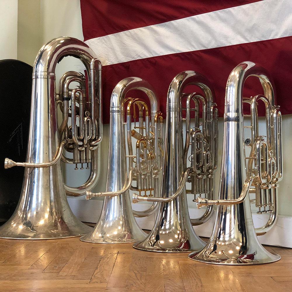 Latvian Memorial Brass