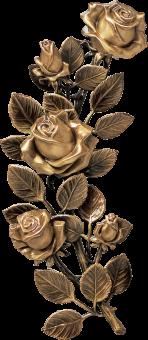 Bronzos gėlės